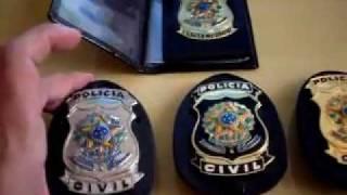 Distintivos Policiais a venda pronta entrega, diversos modelos e funções Polícial