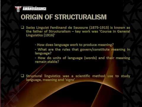 Structuralism Poststructuralism