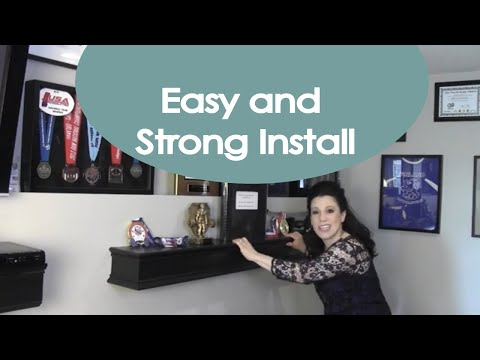 DIY Floating Shelf Bracket and Tutorial - Renee Romeo