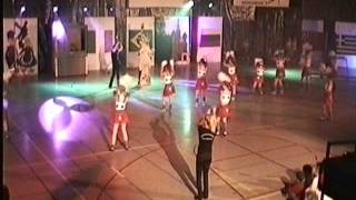 OKK Werkendam Uitvoering 2004 Meisjes3  Amerika