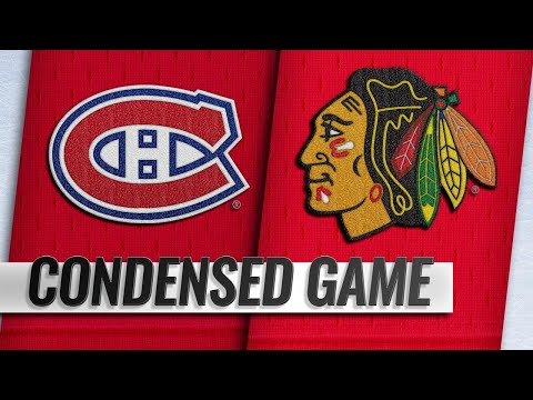 12/09/18 Condensed Game: Canadiens @ Blackhawks