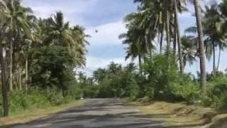 Driving from Boac to Gasan, in Marinduque