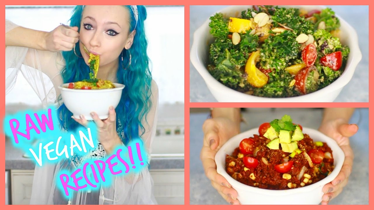 3 raw vegan winter dinner recipes youtube forumfinder Gallery