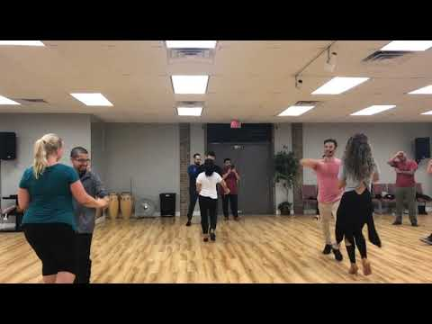 Salsa Lesson at Alpha Midway Dance Studio Dallas