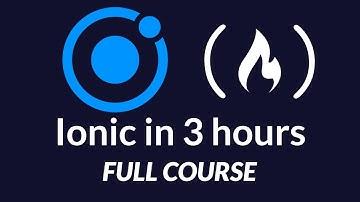 Ionic Framework 4 - Full Tutorial - iOS / Android App Development