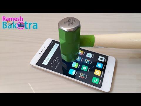 Redmi Note 4 Screen Scratch Test