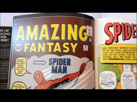 Spider-Man 1st Appearance and Origin - Marvel Comics Character Spotlight (Stan Lee and Steve Ditko)