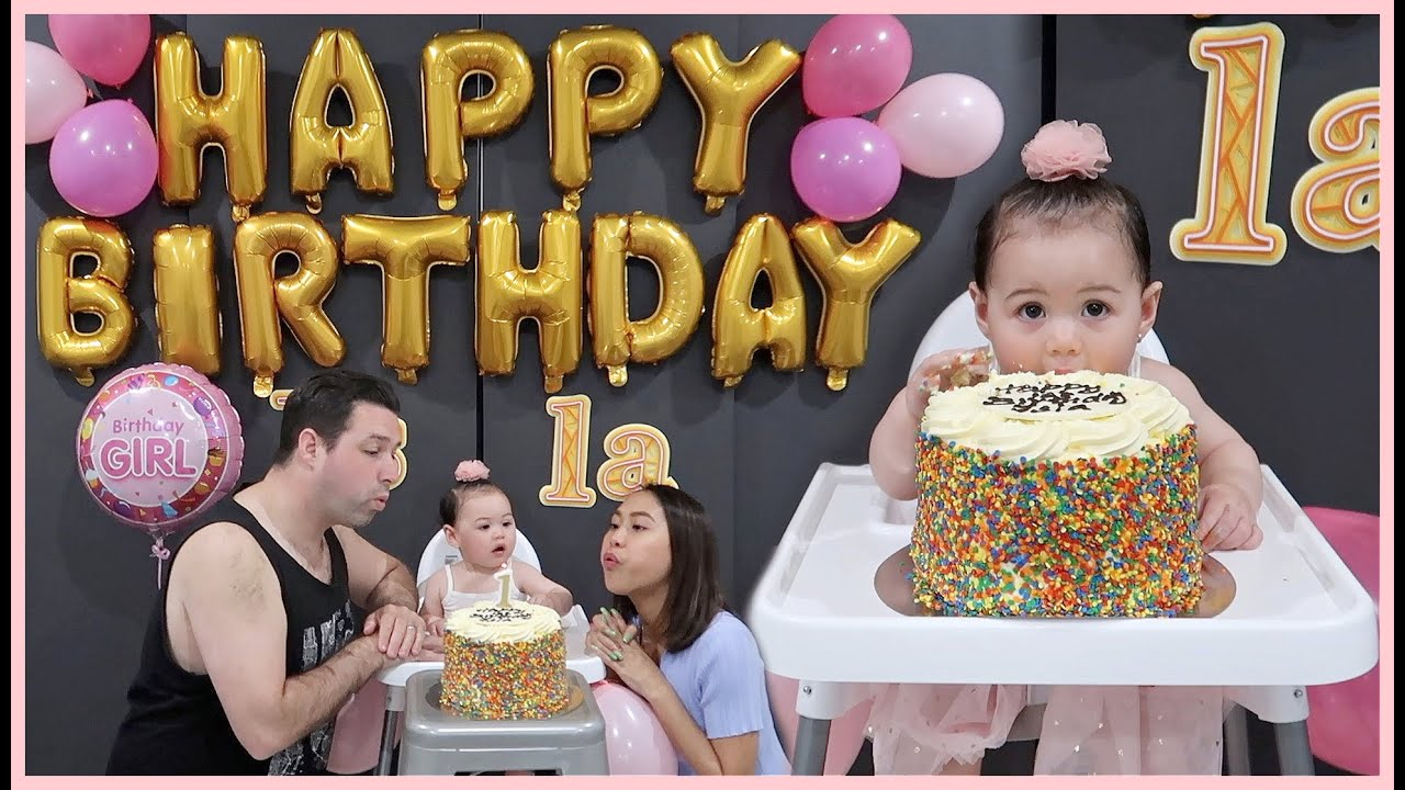 MAY 1 YEAR OLD NA KAMI! SIMPLE CELEBRATION ON ISLA'S BIRTHDAY! ❤️ | rhazevlogs