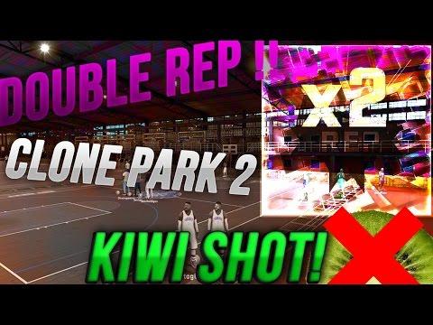 NBA 2K17  : MODIFICATION CLONE PARK  DOUBLE REP WE!!  LA MORT DU KIWI ??