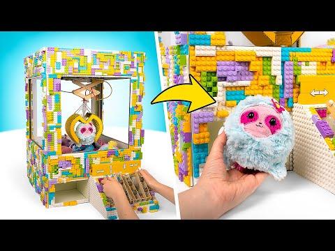 Как Сделать Картонный Автомат с Игрушками