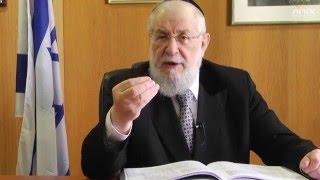 ערוץ אורות- הרב ישראל מאיר לאו - פרשת כי תשא: קשי עורף - סוד העוצמה.