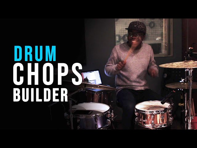 Drum Fill Builder : How to create ANY drum fill idea FAST (App) | Jaystiqs