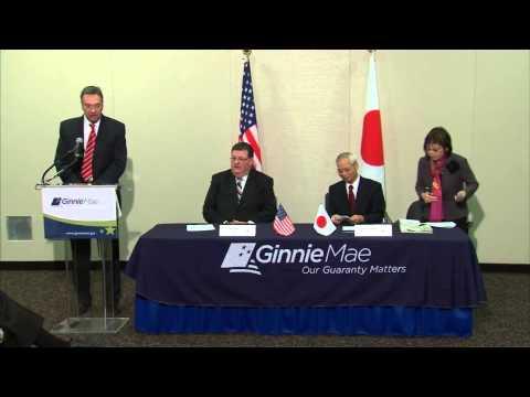 Ginnie Mae and Japan Housing Finance Agency Sign Memorandum of Understanding on Housing Finance