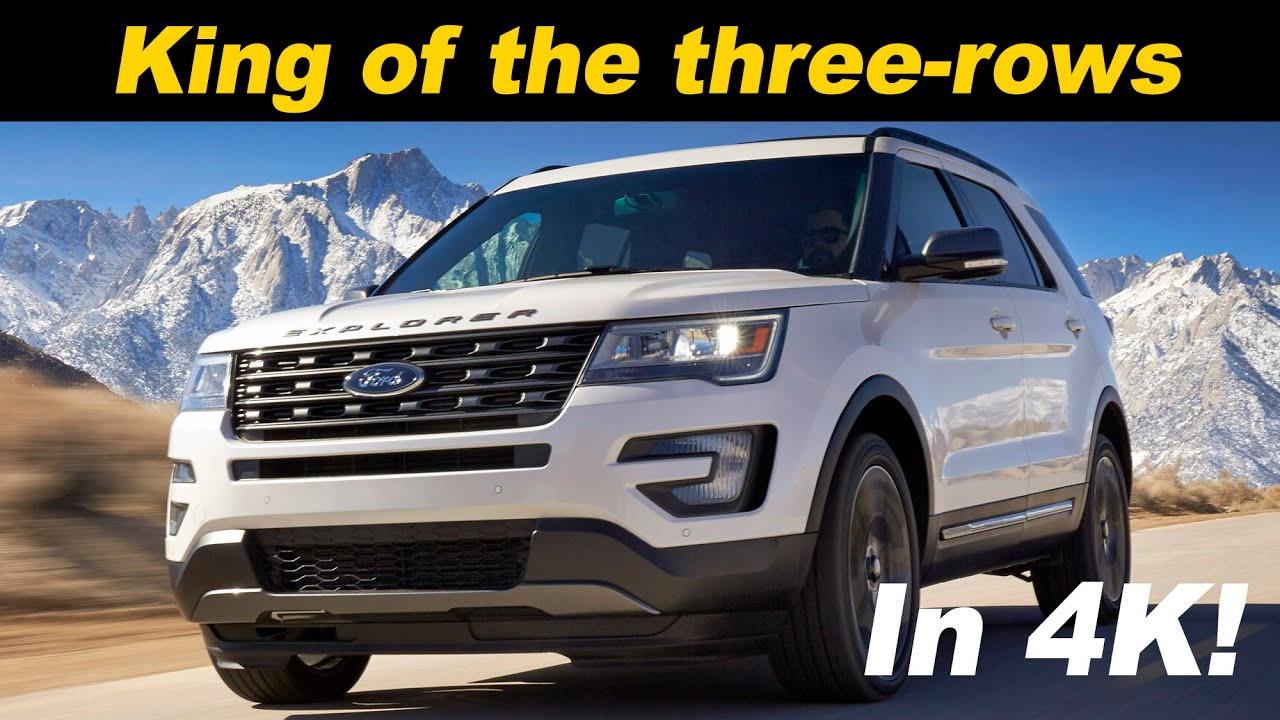 2016 2017 ford explorer review and road test detailed in 4k uhd