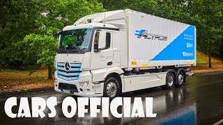 """Mercedes Benz • Film """"From Vision to Reality"""" • New Actros"""