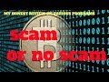 Bitcoin generator - scam alert - don't pay the fee