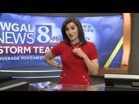 Go behind the scenes of a WGAL forecast