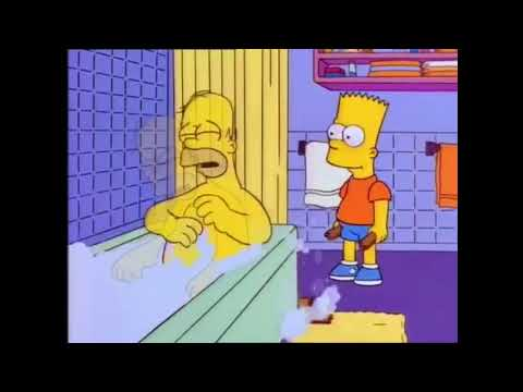 Bart Hits Homer With Chair Meme
