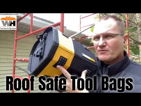 Tool Bags That Don't Slide Off The Roof: Comparing ToughBuilt And AWP Tool Bags
