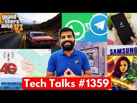 Tech Talks #1359 – TikTok Warning, Telegram on Top, GTA 6 Launch, 4G in J&K, Nokia 5.4, IRCTC Update