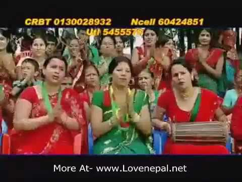 Super Hit Latest Nepali Teej Song 2069[Nachau Ki Jhai Lagyo Madalu Ko Talma] By Devi Gharti