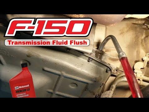 2016 F150: Transmission Fluid Flush (6R80)