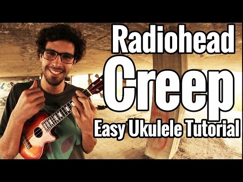 Radiohead - Creep Ukulele Tutorial - Easy Uke Lesson With Play Along