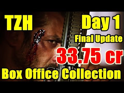 Tiger Zinda Hai Movie Box Office Collection Day 1 l Salman Khan