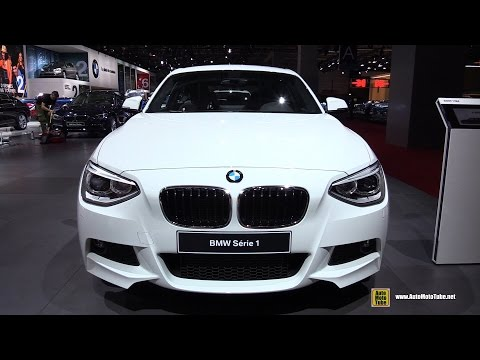 2015 BMW Serie-1 118d Diesel M Sport - Exterior And Interior Walkaround - 2014 Paris Auto Show