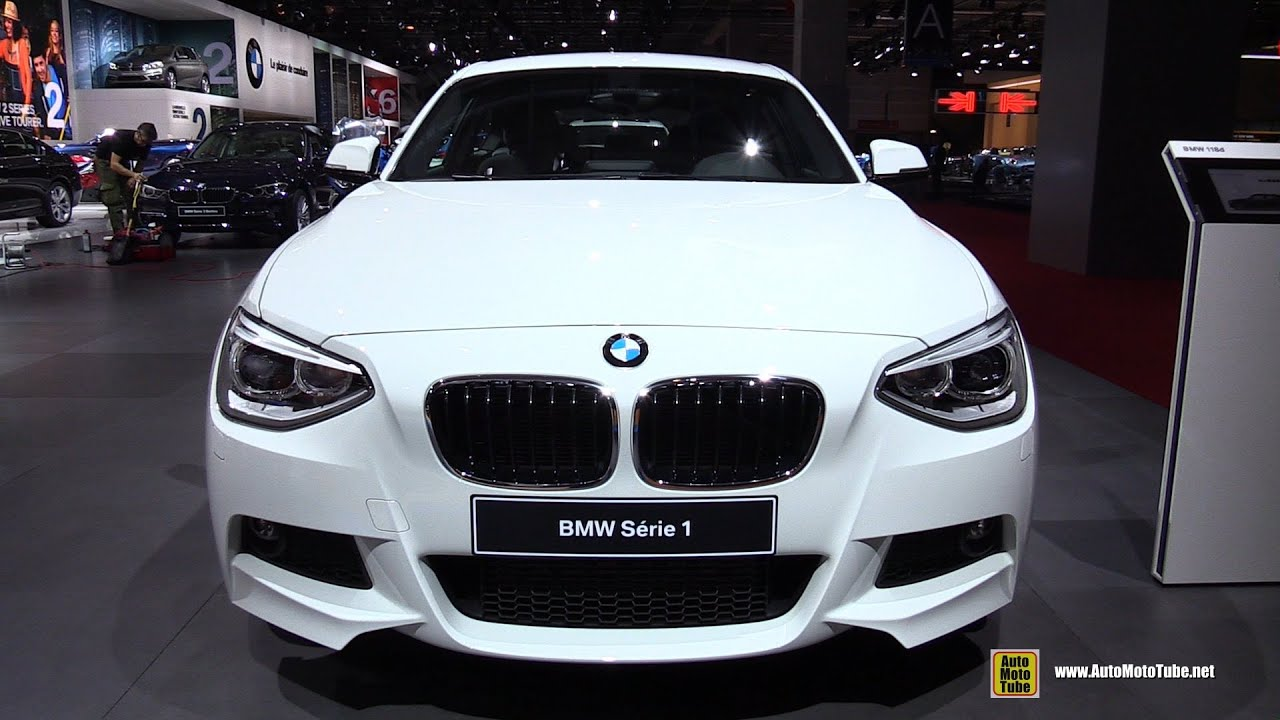 2015 bmw serie 1 118d diesel m sport exterior and interior walkaround 2014 paris auto show. Black Bedroom Furniture Sets. Home Design Ideas