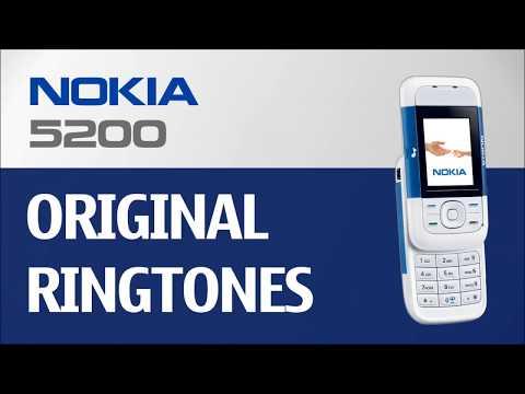 Nokia 5200 Ringtones (Original) || XpressMusic series