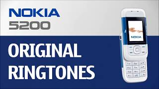 Stock ringtones collected from the top 4 firmwares of nokia 5200 mainly europe / middle east africa asia you can skip to these below: ``...