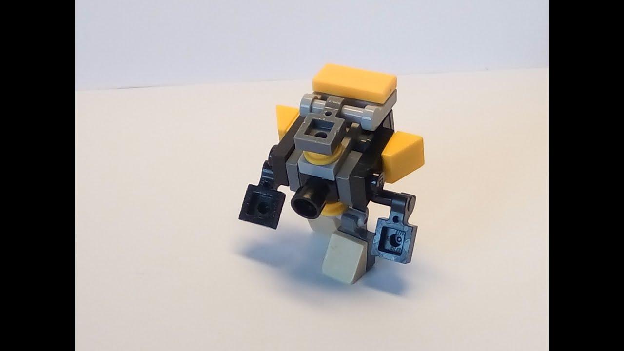 Как сделать из лего мини трансформера видео