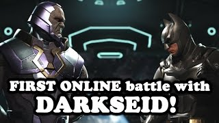 injustice 2 dlc darkseid first 3 online matches vs batman dr fate and canary how did i do