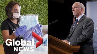 Coronavirus outbreak: B.C. premier, health officials announce provincial response plan