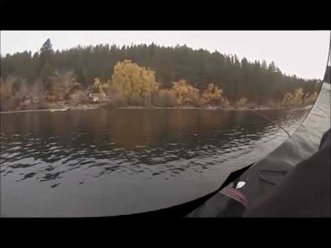 Lake Coeur d' Alene pike fishing with Mark Mills