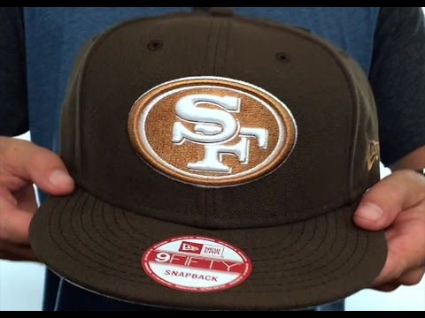 49ers  TEAM-BASIC SNAPBACK  Brown-Wheat Hat by New Era - YouTube d51a61b7f444