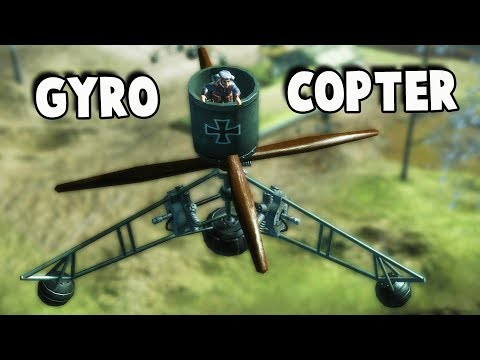 Crazy German GYROCOPTER Super Weapon!  (Toy Soldiers Gameplay Part  6)