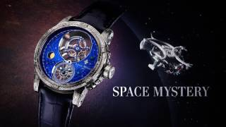 Louis Moinet's world Premiere: the Space Mystery ! Space Mystery is...