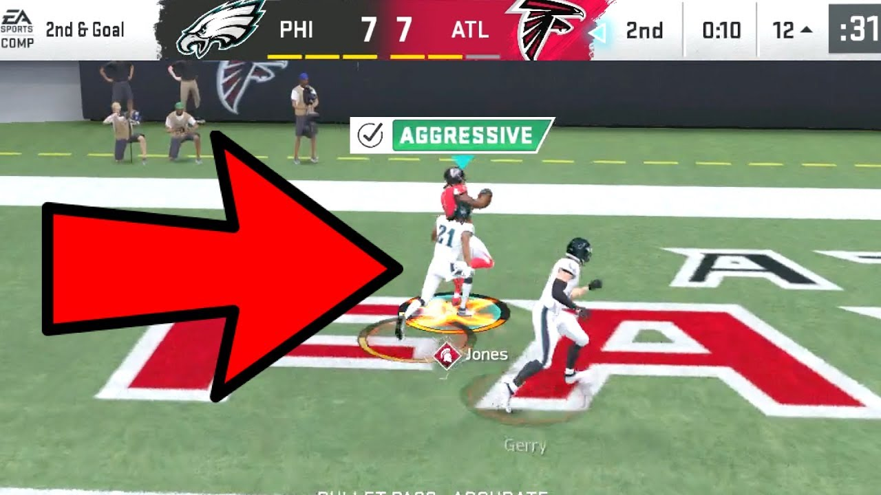 Julio Jones DOUBLE ME ACTIVATED! Eagles vs Falcons Madden 20 Online Gameplay