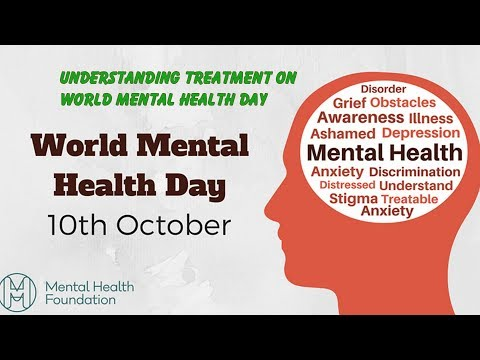 Understanding treatment on World Mental Health Day   Health News Today