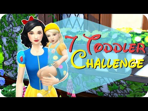 7 Toddler Challenge || The Sims 4 || EP 5 - KISSING PRINCE CHARMING