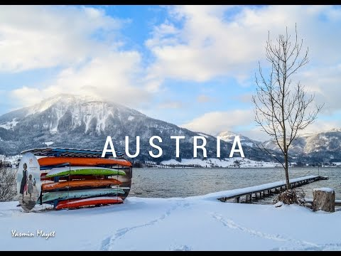 Magical Winter in Austria : Hallstatt and other breathtaking lakes in HD