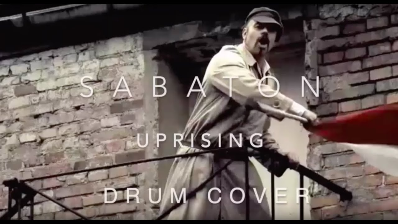 Sabaton - Uprising (drum cover)