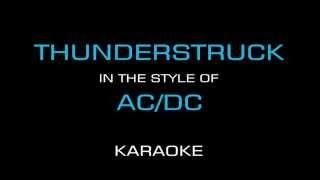 Thunderstruck - AC/DC (Karaoke/Instrumental)