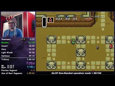 [1:37:21] Zelda: A Link to the Past | Low% No Damage Speedrun