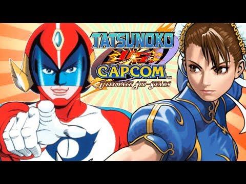 Tatsunoko vs Capcom – O JOGO MAIS LEGAL QUE VOCÊ NUNCA VIU!