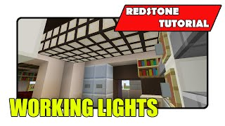 How To Build Working Lights (Minecraft Xbox TU21/PlayStation CU8)