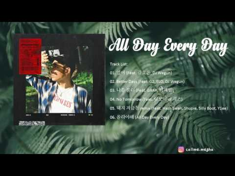 [FULL AUDIO] DAYDAY (데이데이) – ALL DAY EVERY DAY