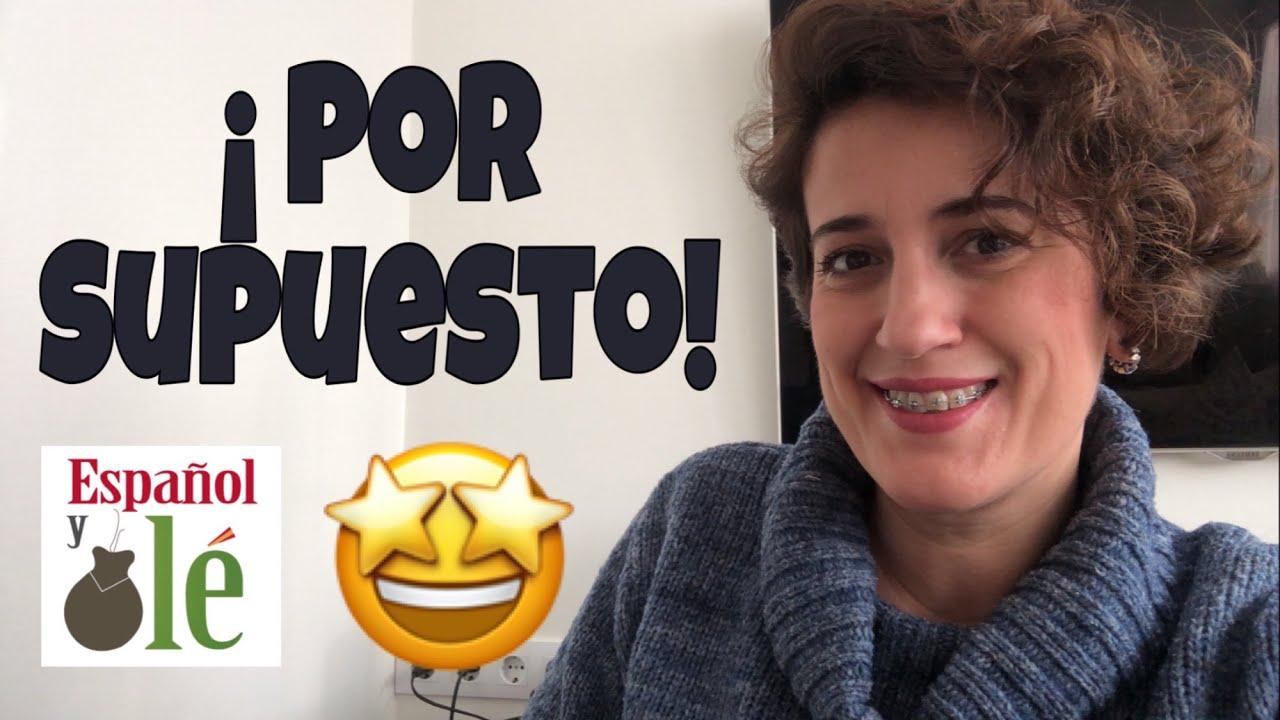✔APRENDER ESPAÑOL nivel INTERMEDIO.Frases con POR.Expresiones en español.Learn Spanish for free.#140